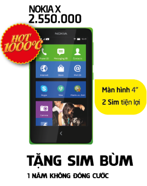 Hot Hú Hồn - Nokia X