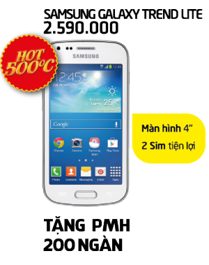 Hot Hú Hồn - Samsung Galaxy Trend Lite