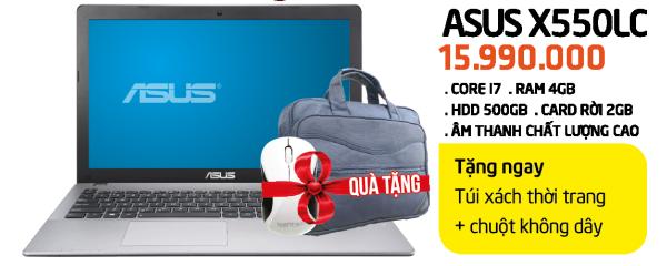 Laptop - Asus X550LC