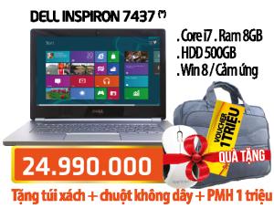 Laptop - Dell Inspiron 7437