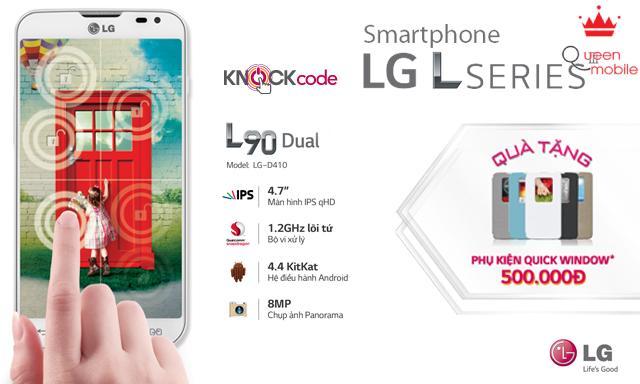 LG L Series Khẳng Định Đẳng Cấp Với L70 & L90