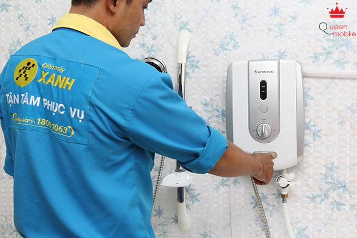 Hướng dẫn khách hàng sử dụng các nút chức năng của máy