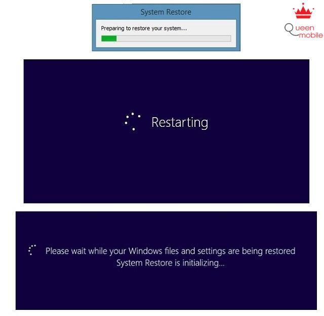 Tạo điểm khôi phục - Restore Point trên Windows 8.1