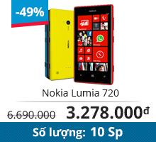 Điện thoại Nokia Lumia 720