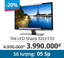 Tivi LED Sharp 32LE153