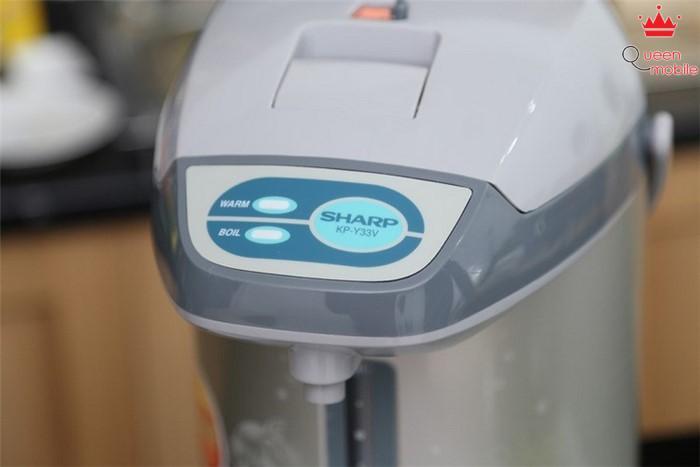 Bình thuỷ điện Sharp KP-Y33V 3.3 lít có chức năng đun sôi và giữ ấm đơn giản