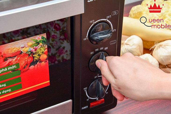 Lò nướng có điều chỉnh nhiệt độ
