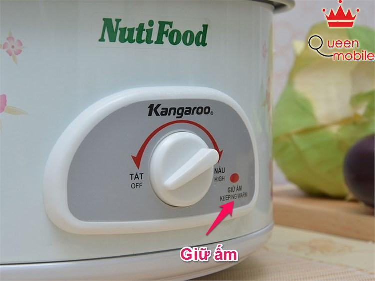 Giữ ấm tự động của Nồi lẩu điện Kangaroo KG 800N
