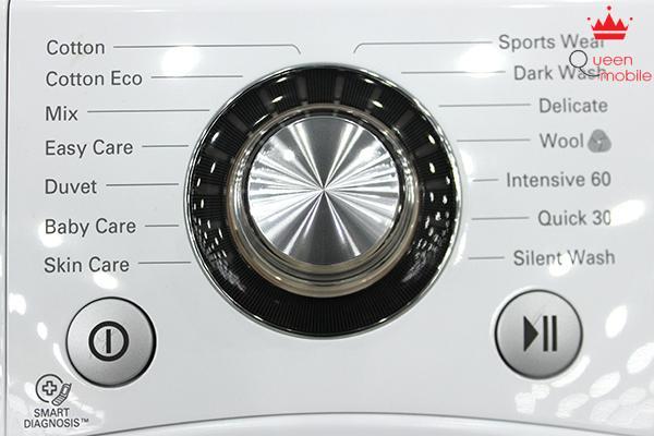 Một số lệnh giặt cơ bản trên máy giặt LG