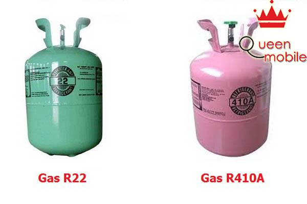 Gas R22 và gas R410A