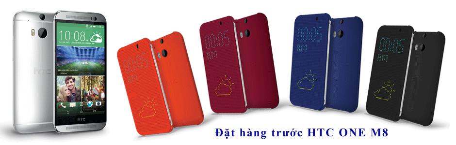 Đặt hàng HTC One M8, nhận khuyến mãi cực kỳ hấp dẫn