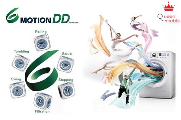 Công nghệ 6 Motion DD mang đến hiệu quả giặt sạch như đôi tay của bạn