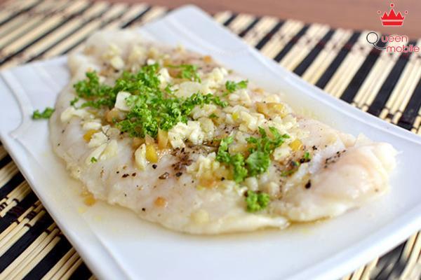 Thưởng thức món cá hấp làm từ nồi cơm điện