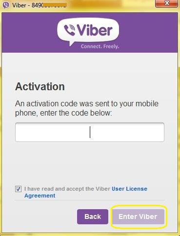 """Sau đó mở hộp tin nhắn trên smartphone để lấy mã xác nhận và nhập vào khung """"Activation"""""""
