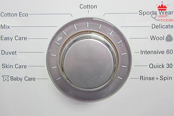 Chế độ giặt Cotton - đây là chế độ mặc định của máy