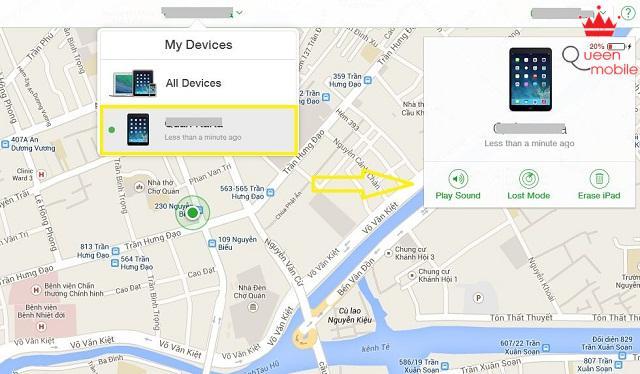 Hướng dẫn tìm, khóa và xóa dữ liệu iPhone/iPad từ xa khi bị mất