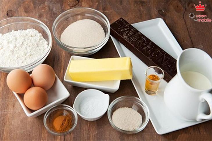 Cách làm bánh chocolate kem bằng lò nướng thủy tinh