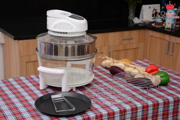 Cách làm bánh nướng trái cây bằng lò nướng thủy tinh