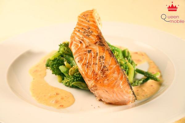 Cách làm cá hồi phi lê nướng bằng lò cực dinh dưỡng và thơm ngon