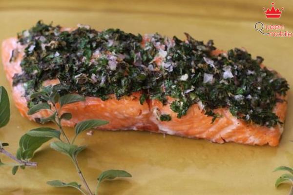 Cách làm món cá hồi phi lê nướng bằng lò nướng
