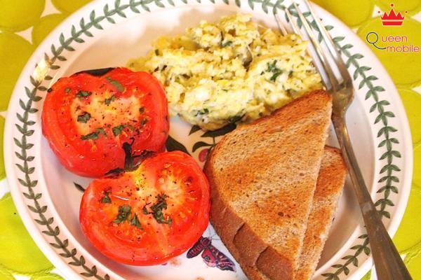 Cách làm món cà chua nướng bổ dưỡng bằng lò nướng