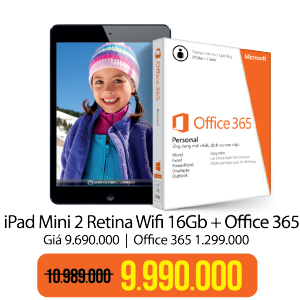 iPad Mini 2 Retina Wifi 16 GB