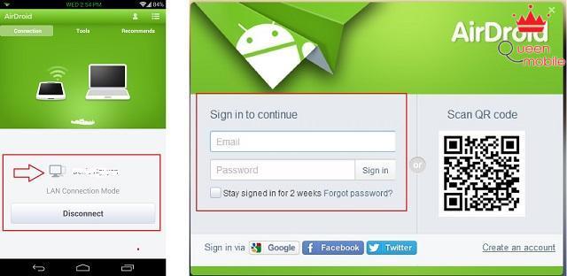 AirDroid Phần 2 - Quản lý thiết bị Android từ máy tính