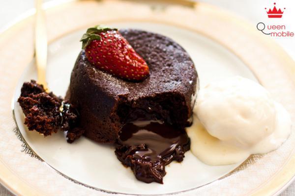 Cách làm bánh sô-cô-la mềm ngon tuyệt bằng nồi cơm điện
