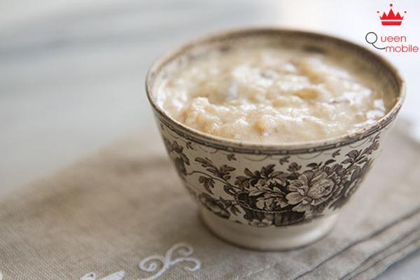 Cách làm món cơm sữa bằng lò vi sóng