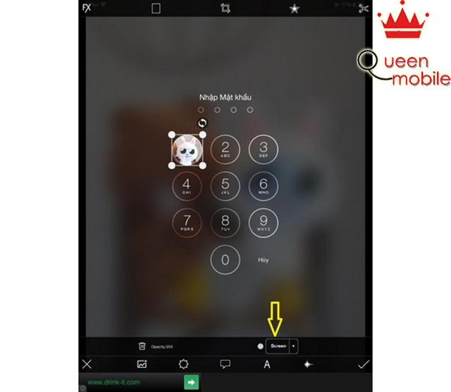 Cách làm ảnh màn hình khóa trên iPhone, iPad