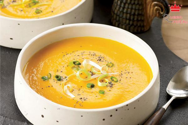 Cách nấu súp cà rốt bằng nồi áp suất