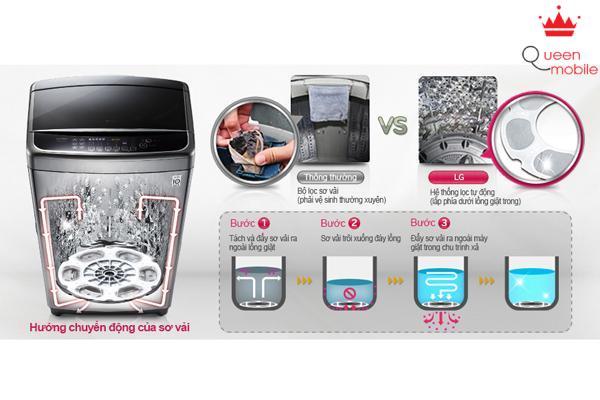Máy giặt LG WF-D2017DD và những tiện lợi cho cuộc sống hiện đại