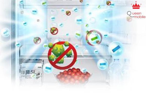 Kháng khuẩn, khử mùi bằng công nghệ Active-Vio Deodorizer