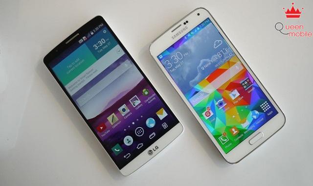 So sánh LG G3 và Samsung Galaxy S5
