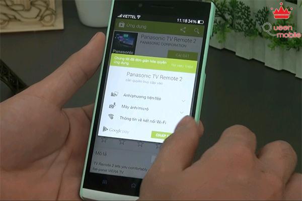 Cách sử dụng Swipe and Share trên tivi Panasonic