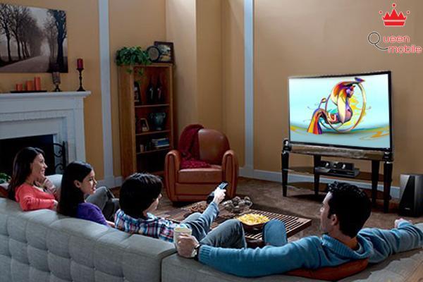 Độ phân giải Full HD mang đến hình ảnh sắc nét từ mọi nguồn phát