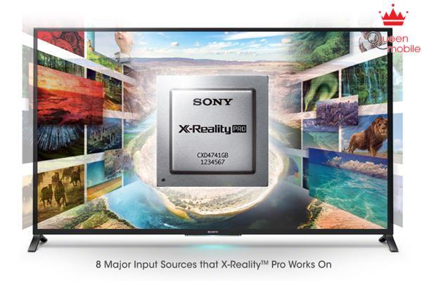 Chi tiết tuyệt đẹp từ mọi nội dung nhờ bộ xử lý hình ảnh độc đáo của Sony