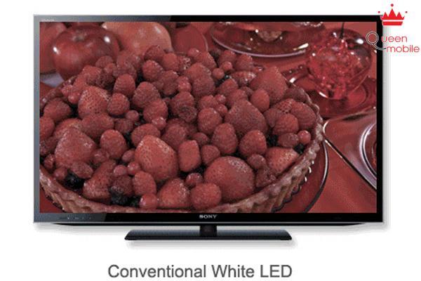 Màu sắc của tivi thông thường gây nhàm chán
