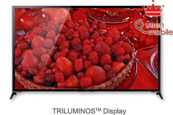 Công nghệ Triluminos Display cho màu sắc sinh động hẳn lên