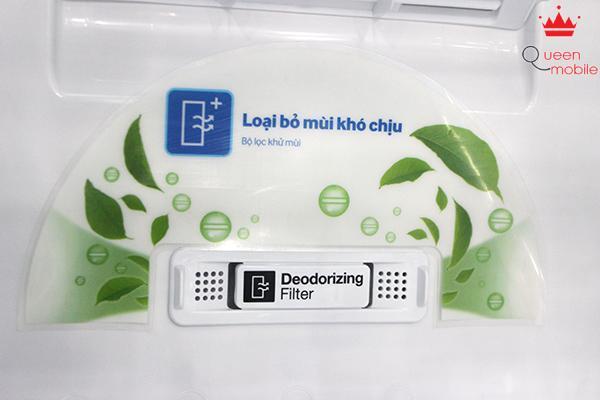 Tủ lạnh được trang bị bộ lọc khử mùi Deodorizing Filter tiên tiến