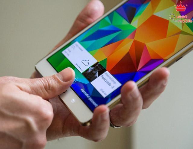 Cảm biến nhận dạng vân tay trên Samsung Galaxy Tab S 8.4