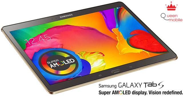 Màn hình 10.5 inch 2560 x 1600 cực nét của Galaxy Tab S 10.5