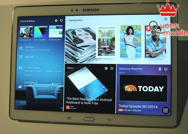 Giao diện TouchWiz Magazine UX trên Android 4.4.2