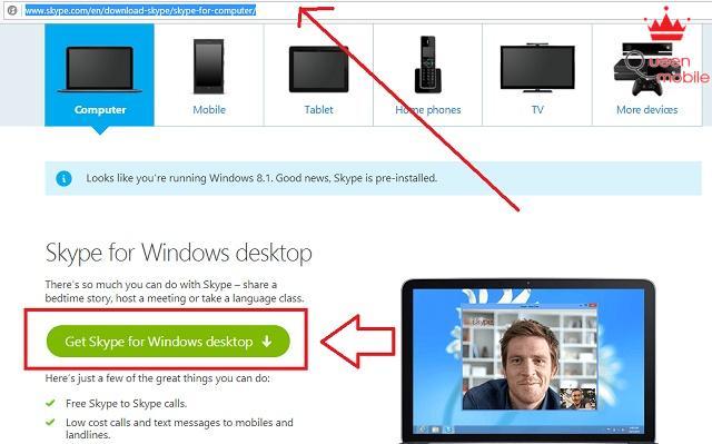 Cài skype, line, viber cho laptop chỉ trong 5 phút