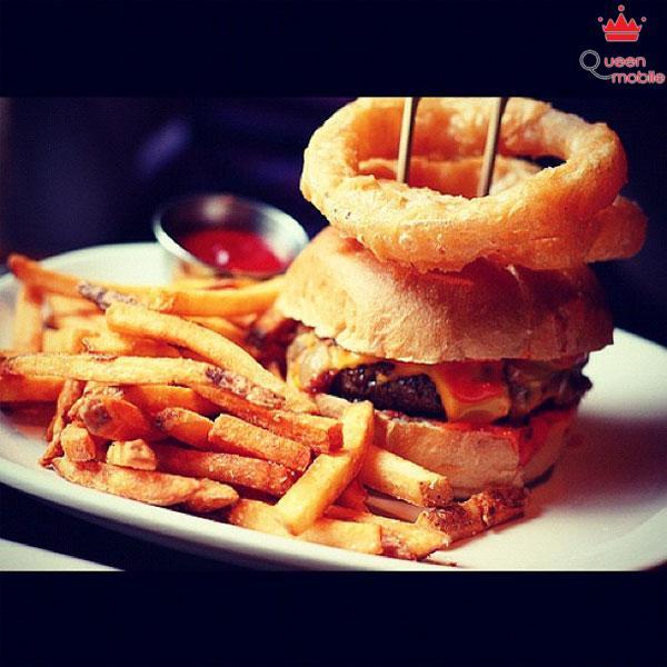 Hamburger trên Instagram
