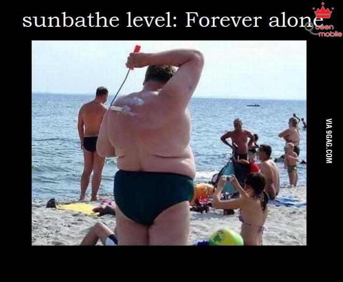 Tắm nắng trong đời thực