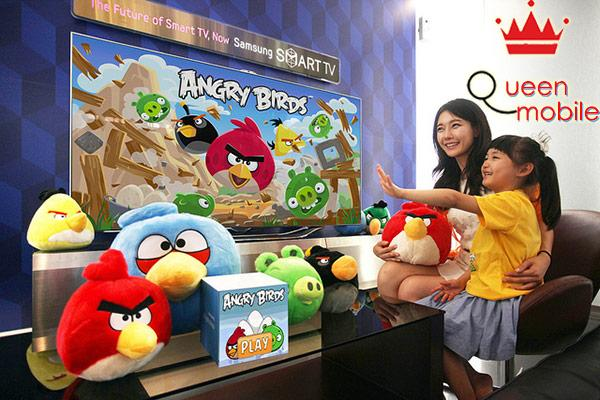Game Angry Birds trên smart tivi