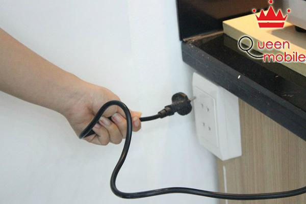 Chỉ ngắt điện khi bếp nguội hẳn