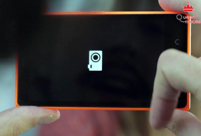 Mở ứng dụng camera một cách nhanh chóng