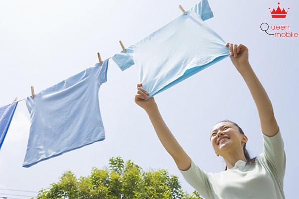 Quần áo của bạn sẽ được giặt sạch và chăm sóc tốt nhất